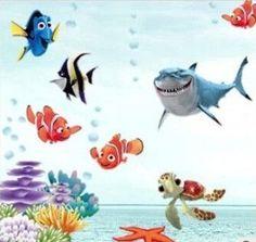 Wonderful Sea world removable 3d vinyl wall art stickers window decals bathroom decor decoration stickers for nursery kids rooms