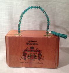 Cigar Box Purse ~ Arturo Fuente