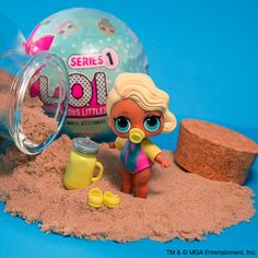 LOL dolls are getting scarce! Try your luck with the LOL Surprise. Like this little honey geared up for those rays we are longing for! Monster High Birthday, 4th Birthday, Fun Crafts For Kids, Diy And Crafts, Indoor Tent For Kids, Lps Accessories, Barbie Party, Babe, Shopkins