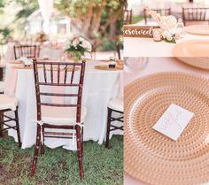 Outdoor Wedding Reception | Sharon Elizabeth Photography