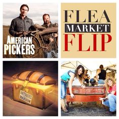 Some of my Favorite TV Shows ! AMERICAN PICKERS - FLEA MARKET FLIP - ANTIQUES ROADSHOW - JUNK GYPSIES ! ....... Check out our Pinterest Page ! ..... Follow us / REPIN our pins :) We love all things Antique / Vintage ! ...... Download our FLEATIQUE APP for IPhone 5 IPhone 5s IPhone 5c on the Apple App Store . television retro repurposed repurposing upcycled chalk painted antique fleamarket furniture mid century modern kitsch shabby chic primitive primitives decor style hgtv home design