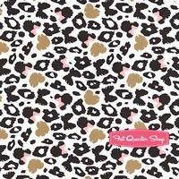 Minnie Mouse Metallic Black Spot Print Yardage SKU# 85270202-3