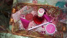 Inside Mothers day basket