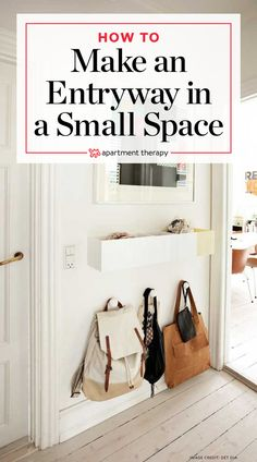 Small Space Entryway Ideas | Apartment Therapy