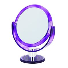 Danielle Round Tortoise Vanity Mirror Dark Purple Swirl ** You can find out more details at the link of the image.(This is an Amazon affiliate link and I receive a commission for the sales)
