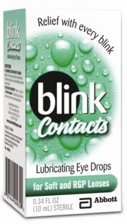 Blink Contacts® Lubricating Eye Drops good for rewetting soft contact lenses if your eyes feel dry or if you have trouble removing your contact lenses.