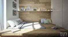 a Sunken Bed!     (Source: SVOYA-STUDIO.COM)