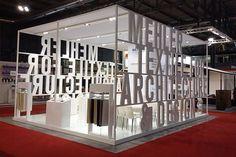Diseño de stands tipográficos                                                                                                                                                     Más: