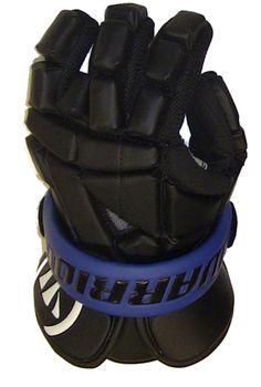 JET BLACK Warrior Riot Lacrosse Gloves... feelin' it.