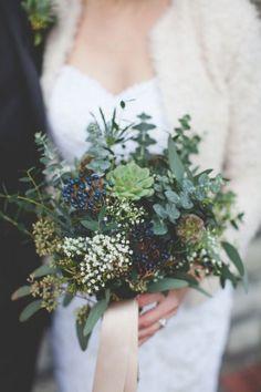 succulent dried flower bouquet - Google Search