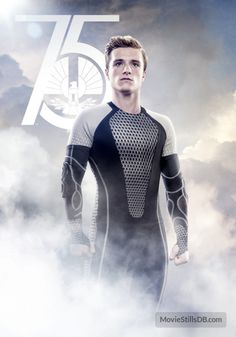 "Day 3. Peeta Mellark is my character I hate (more like dislike) that EVERYONE loves. Idk, did anyone feel like Katniss was way too strong for him? Dont get me wrong, I never shipped Galeniss, but he just kinda lost it. Maybe its the fact he sorta betrayed her, maybe its that he wouldnt let her die for him. Almost saying, ""No, I want you to live because I dont value my life."" Dont know. I like him, just dont LOVE him like everyone else. #Finnick #Gal"