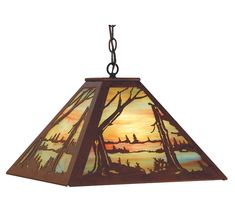 Meyda Tiffany Quiet Pond Pendant