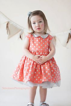 The Caroline Party Dress Pattern PDF by MouseHouseCreations, $9.00