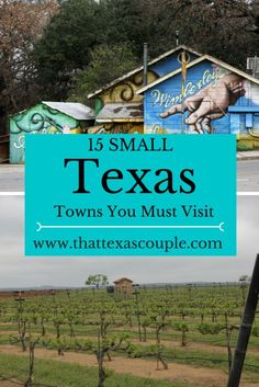 Planning a trip to Texas or just wanting to escape the city? Then this post is for you! Check out the 15 Texas towns on this post that help you to explore the great big state of Texas! Whether you're looking for a girl's getaway or a romantic weekend, we have you covered! #texas #texassmalltowns #visittexas #fredericksburg