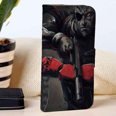 Metal Gear Solid Big Boss | Video Games | custom wallet case for iphone 4/4s 5 5s 5c 6 6plus case and samsung galaxy s3 s4 s5 s6 case - RSBLVD