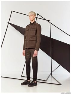 Neil Barrett is Graphic & Sporty for Pre Spring 2015 Mens Collection ❤️  DEC 14, 2014