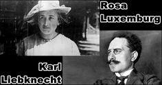 Karl Liebknecht and Rosa Luxemburg | die verfolgung und ermordung karl liebknechts und rosa luxemburgs ..
