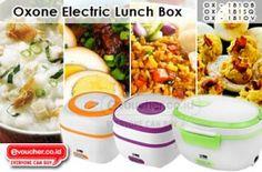 Bawa Dan Hangatkan Makananmu Dengan Kotak Makan Elektrik Oxone Hanya Rp.199,000 - www.evoucher.co.id #Promo #Diskon #Jual  klik > http://evoucher.co.id/deal/Kotak-Makan-Elektrik-Oxone   Hangatkan setiap saat bekal makanmu dengan Oxone Electric Lunch Box hanya dengan menghubungkan ke stop kontak. Electrik lunch box ini bisa digunkan untuk memasak nasi, merebus telur dan makanan lainnya. Tersedia dalam 3 pilihan ukuran dimensi  pengiriman mulai tanggal 2013-09-09