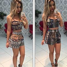 Aliexpress.com: Compre 2 cores de verão estilo mulheres define vestidos plus size 2 peças das mulheres Sets curtos sem mangas casual sexy tops e shorts de confiança Conjuntos Femininos fornecedores em best 4 best