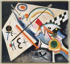 Wassily Kandinsky -  White Cross