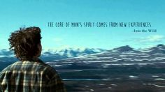 Christopher McCandless, <i>Into the Wild</i>