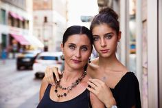 """Mother and daughter on the streets of Milan, Italy, a few weeks ago.   Caterina, the daughter, started to dance when she was 3 years old. """"I always said to my mother that I want to become a ballerina."""" And Barbara, the mother, always supported her.   They both moved to Milan from their small town so Caterina could fulfil her dream and study ballet from an early age in one of the most prestigious schools in the world. Her brother and her father had to remain home, a few hundred kilometres awa"""