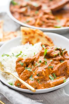 This restaurant style chicken tikka masala recipe is rich and creamy, just like Indian takeout. Hands down the very best chicken tikka masala. Whole30 Dinner Recipes, Paleo Chicken Recipes, Indian Food Recipes, Real Food Recipes, Cooking Recipes, Drink Recipes, Best Chicken Tikka Masala Recipe, Indian Takeout, Birthday Cakes