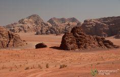 The vastness of Wadi Rum.