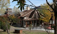 Vasilikia Mountain Farm - Παύλιανη Greece Hotels, Where To Go, Places To Visit, Cabin, House Styles, Gallery, Mountain, Fairy, Home Decor