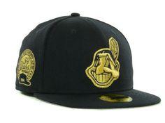 b617a76b Cleveland Indians MLB 59th Anniversary Team 59FIFTY Cap Hats Nba Hats,  Baseball Hats, New