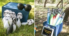 Legos and Lightsabers Star Wars Party | Star Wars party activities