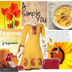 A simple you: A simple yet classy kurta for your everyday wear .