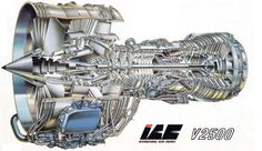 V2500 Steam Turbine, Aircraft Engine, Pilot Gifts, Jet Engine, Aircraft Design, Us Air Force, Sketching, Fighter Jets, Engineering