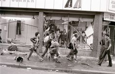 Brixton Riots, 1981. Saturday on April 10. At around 17:15