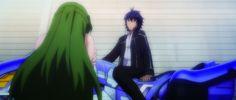 """Die Abenteuer von Myuu und Akatsuki in Aesthetica of a Rogue Hero - Staffel 1 Folge 6 - """"Sleipnir - Das Überschall-Motorrad"""". Jetzt online anschauen auf www.filmconfect.de"""