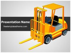 Download free warehouse forklift powerpoint template for your get this free forklift truck powerpoint template with different slides for you upcoming powerpoint presentation free forklift truck ppt toneelgroepblik Images