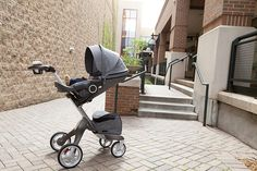 """Wow that's a cool stroller"" ""Neat stroller"" ""What kind of stroller is that?"" ""Where can I get a stroller like that?"" ""What a great looking buggy"" ""That's such chic stroller"" ""I have never seen a stroller like that before"" Ever since bringing the Stokke Xplory out in public I have not stopped receiving comments like this. The first time I brought it to our local galleria for coffee and a quick walkaround I was stopped no less than 10 times by curious people wondering about what brand it is…"