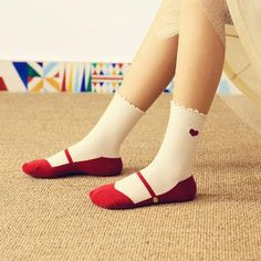 85394022fde Cute and Creative Trick Ballet Shoe Socks Cute Gifts