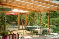 Patio latem - zjeść śniadanie w takim otoczeniu, z widokiem na Park Skaryszewski, to wyjątkowo miłe rozpoczęcie dnia :)