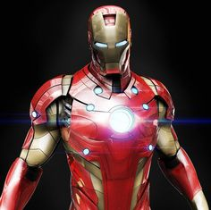 Slick IRON MAN Armor Designs by Mars2