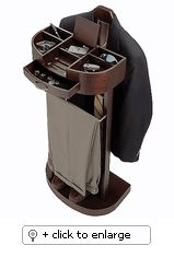 Men's Standing Valet Organizer Stand - Click to enlarge