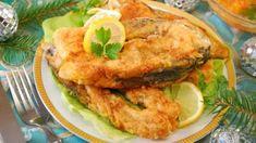 Kapor v pivnom cestíčku Carp Recipes, Fried Fish Recipes, Steaks, Coconut Fish, Food Porn, Shellfish Recipes, Baked Fish, Salmon Burgers, Fries