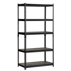 4x Garage Shelving Racking HeavyDuty Steel Boltless Warehouse Unit Loft Collect