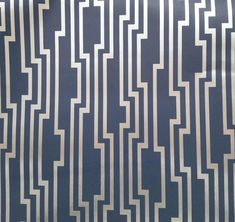 Velocity Wallpaper in Navy from the Candice Olson Journey Collection by York Wallcoverings