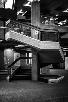 Treppe, Universität Regensburg