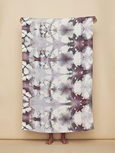 Shibori | upstate shawl via Wings Hawaii