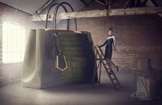 The Big Bag Theory in Harrods Magazine August 2013