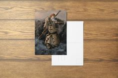 Anders A6 Dragon Age Inspired Postcard by SefieRosenlund by Sefie Rosenlund @ Etsy. Drawing Tablet, My Portfolio, Dragon Age, Etsy Seller, Digital Art, My Arts, Stamp, Colours, My Favorite Things