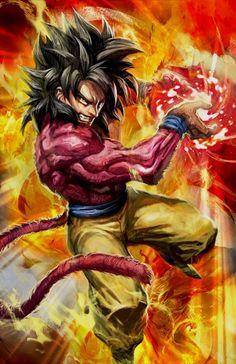 Super saiyan 4 Goku by