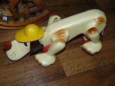 SCRANBERRY COOP : Digger, Vintage Toy, Playskool Dog